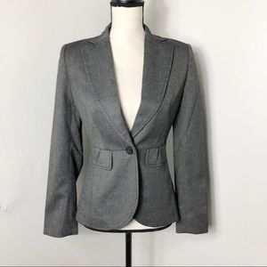 White House Black Market One Button Blazer 0